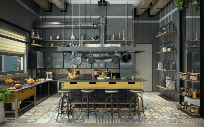 15 ideas para una cocina estilo industrial