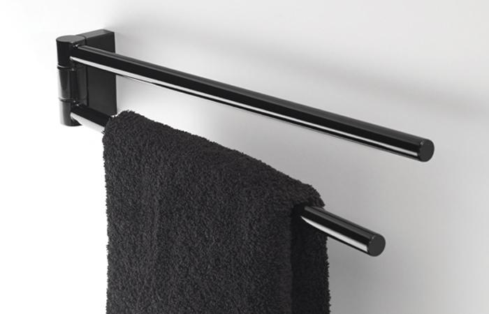 toallero para bano white and black